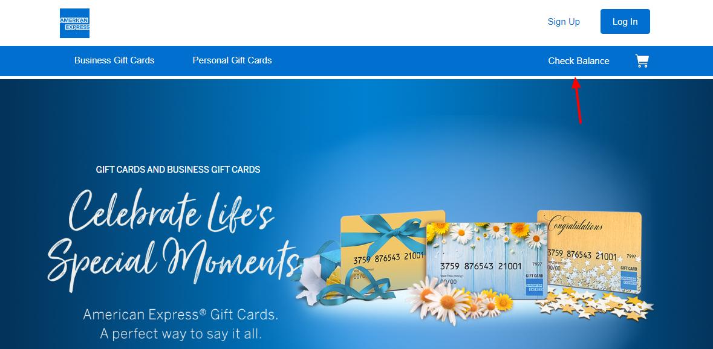 American Express Gift Card Check Balance