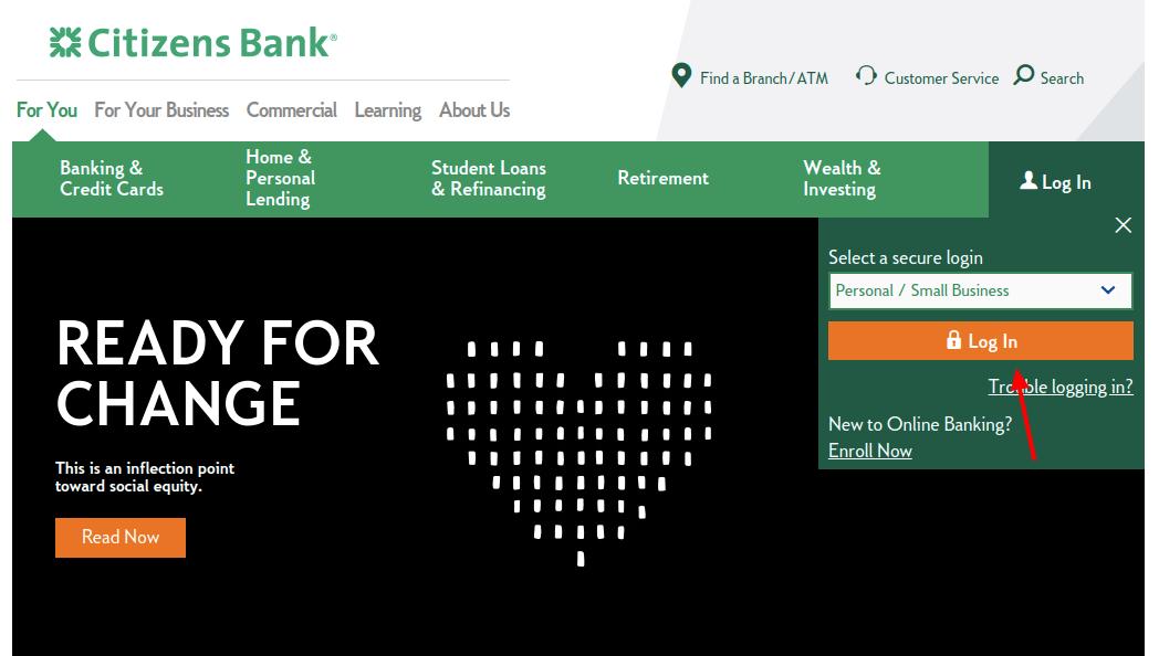 Citizens Bank Login