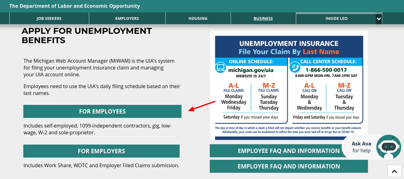Labor Economic Unemployment Insurance
