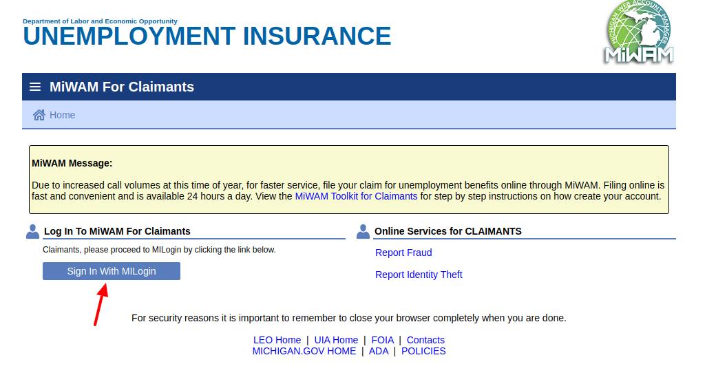 www.michigan.gov/uia - Claim Your Michigan Unemployment ...