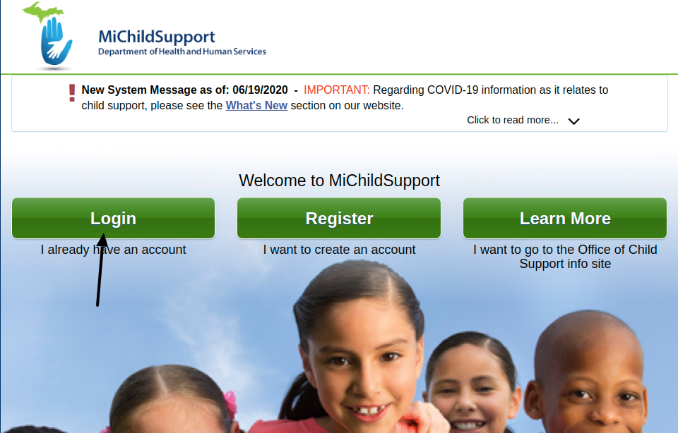 Michigan Child Support Login