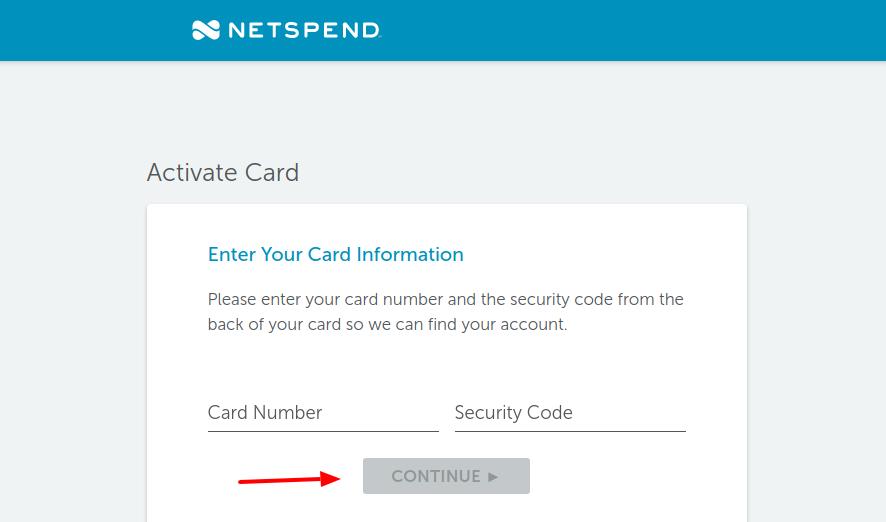 Netspend Prepaid Card Activation