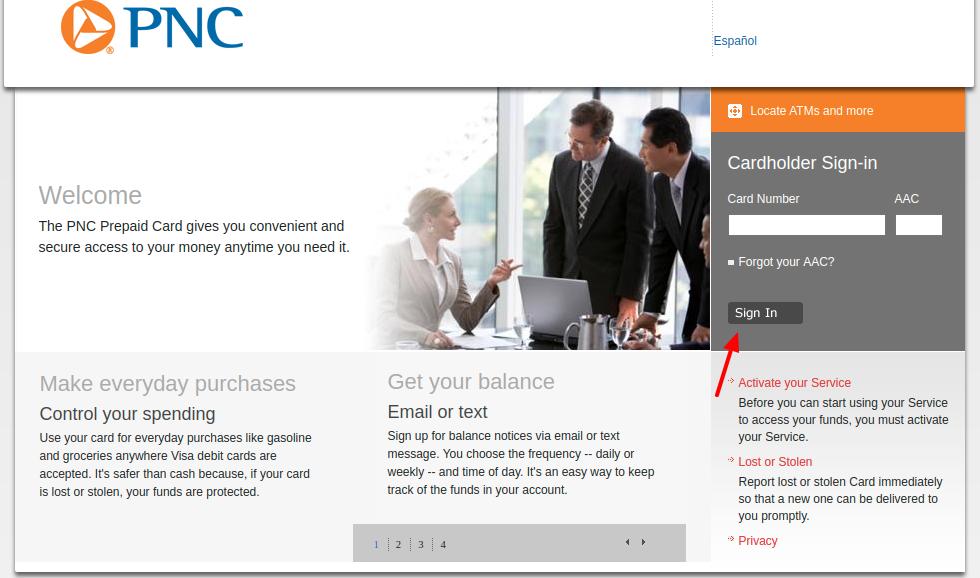 PNC Credit Card Login
