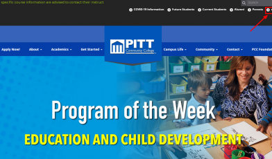 My PITTCC Login