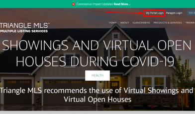 Your Triangle MLS Account login